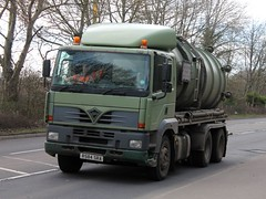 quicksilver coaches posted a photo:	R584 SRA1998 Foden Alpha 3000 380Cammack & Wilcox Ltd, Wollaston, NorthamptonshireBuckingham, 12 March 2021New to Hardstaff Haulage, Nottingham as a 4x2 tractor unit