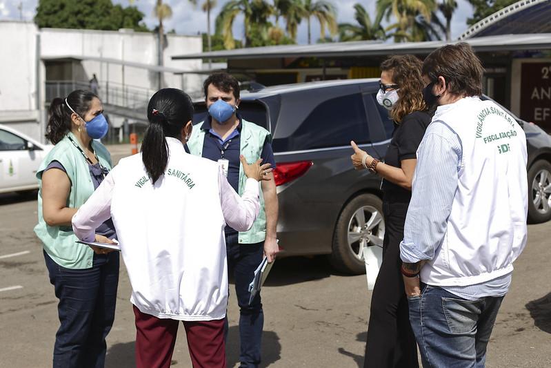 Vigilância Sanitária fiscaliza escolas com aulas presenciais