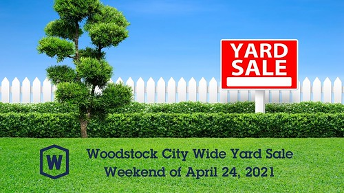 Woodstock City Wide Yard Sale