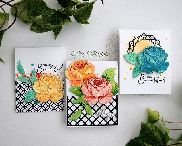 trio of cards