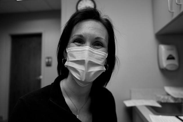 The wonderful nurse that administered my COVID-19 vaccination