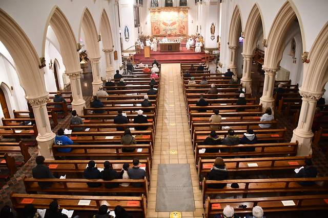 The Solemnity of St Joseph and Bishop David's First Anniversary Mass