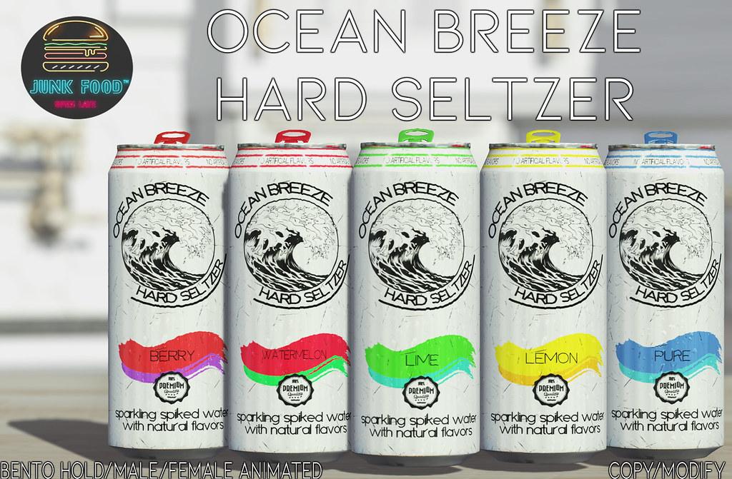 Junk Food – Ocean Breeze Hard Seltzer Ad