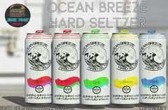 Junk Food - Ocean Breeze Hard Seltzer Ad