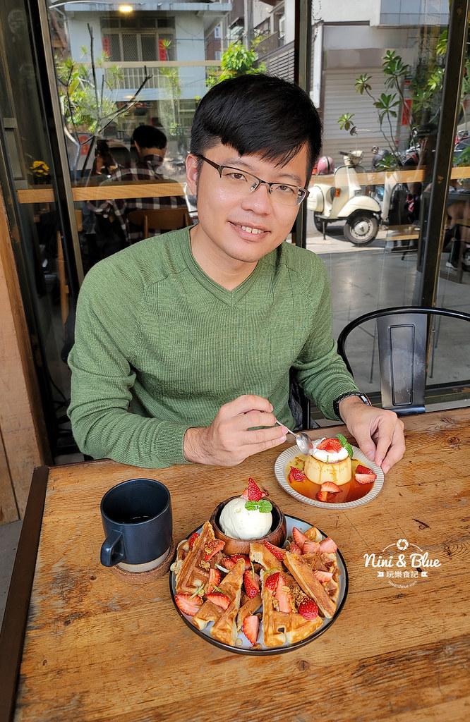 Roundabout Cafe 圓環咖啡台中草莓布丁19