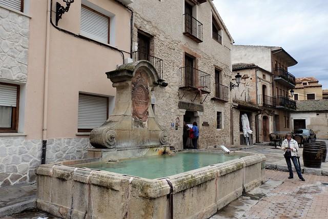 Turégano - Pilón Plaza de Santiago - Segovia
