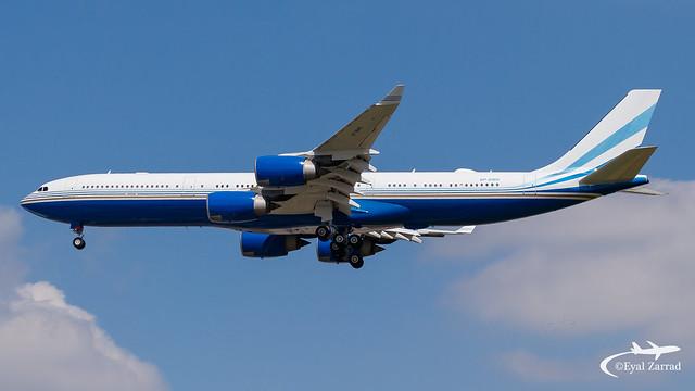 TLV - Las Vegas Sands Corporation Airbus A340-500 VP-BMS