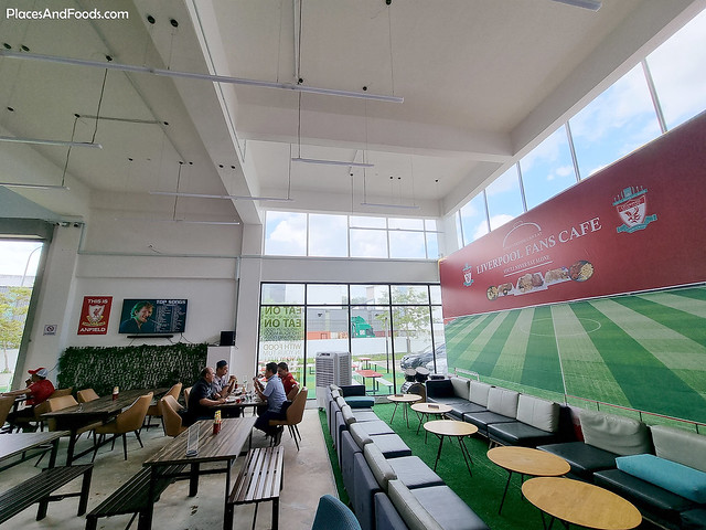 liverpool fans cafe you never eat alone