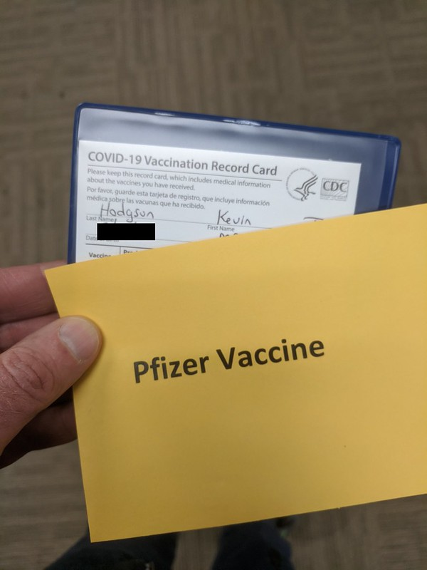 Vaccine Card first dose