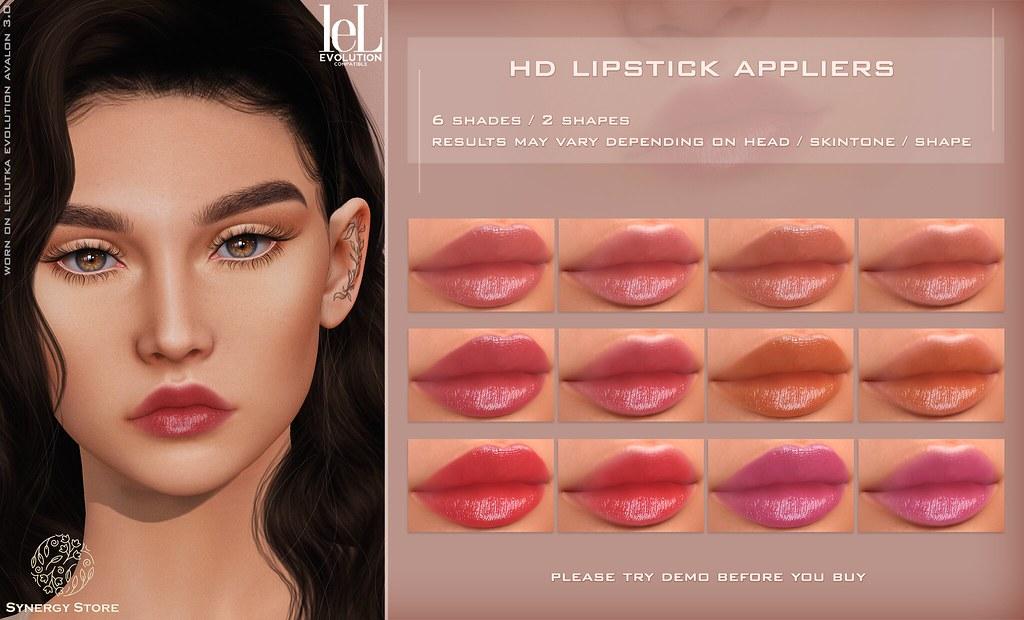 Synergy – Lelutka Lipstick Applier for EVO heads – Tama♥