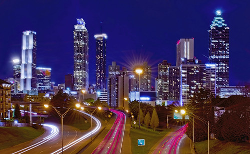atlanta fulton county georgia historical city cityscape urban downtown skyline central business district skyscraper building architecture commercial property cosmopolitan metro metropolitan metropolis real estate office modernism postmodern modern fun coast vacation megalopolis state south deep forest nightphotography peachstate realestate commercialproperty