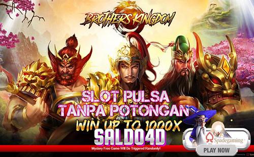 Judi Slot Brothers Kingdom Spade Gaming SALDO4D