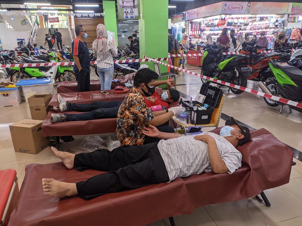 Donor Darah di Bangkit & Berkarya