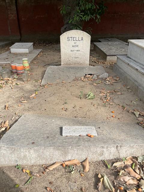 City Landmark - Stella's Grave, Christian Cemetery, Prithviraj Road