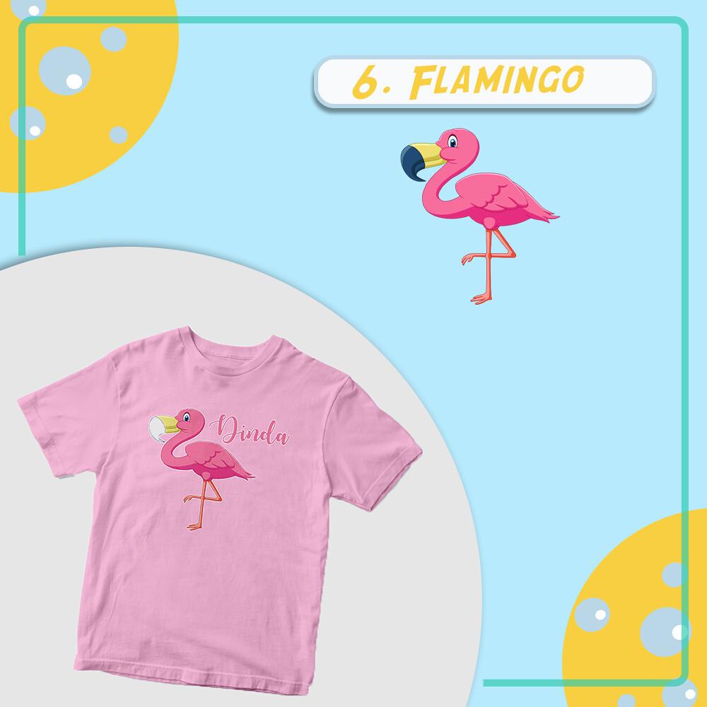 Kaos Flamingo