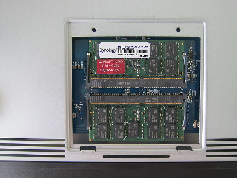 DS1621+ - Extra RAM Installed