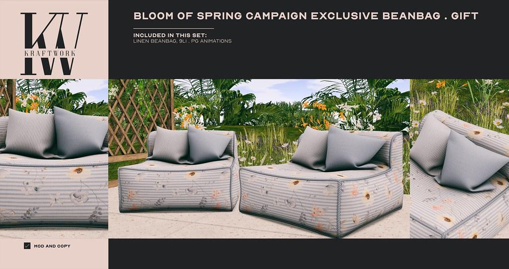 KraftWork Pryce: Bloom of Spring Exclusive Beanbag GIFT