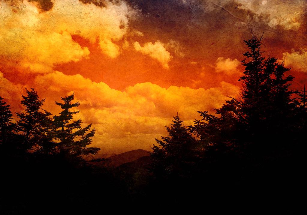 Sunset in Catskills