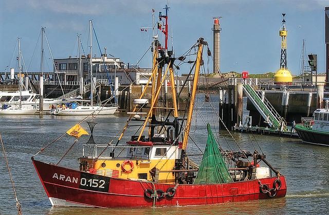 Oostende Vissersboot