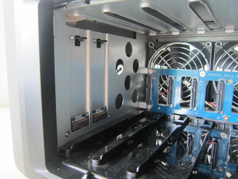 DS1621+ - NVMe M.2 SSD Slot