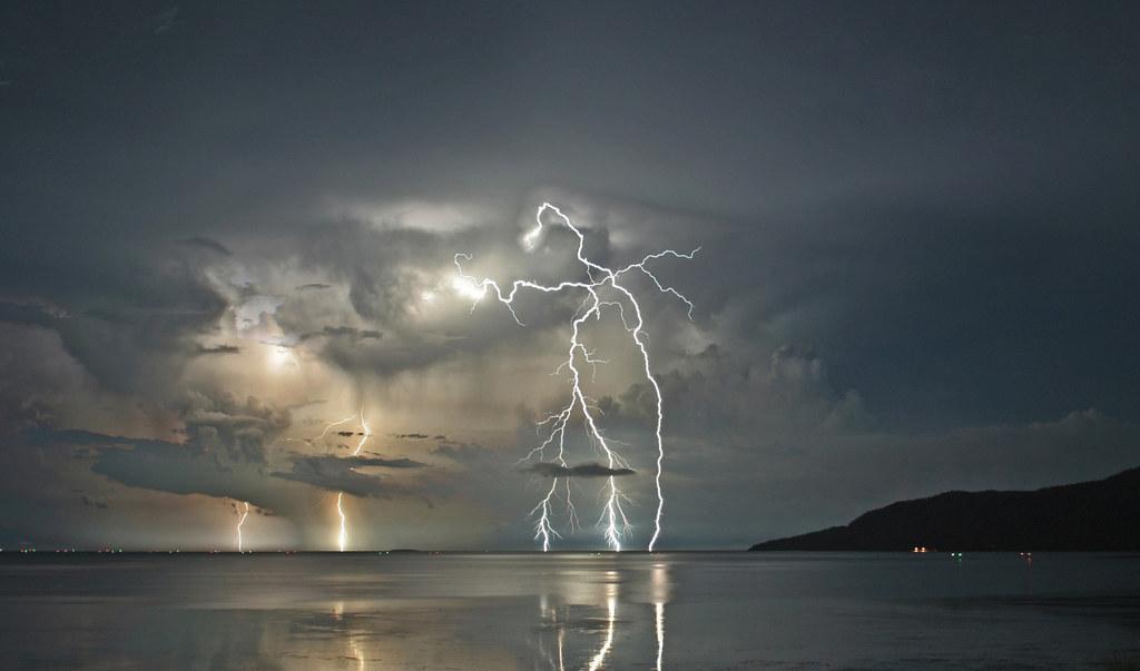 Lightning Strikes the Coral Sea 1 - Nov 27, 2008