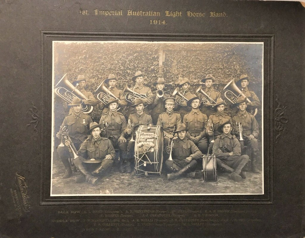 First Imperial Australian Light Horse Band - 1914
