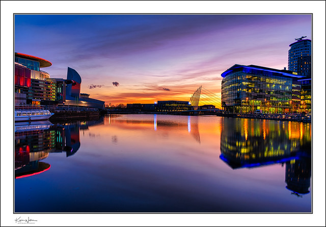 The Quays Blue Hour