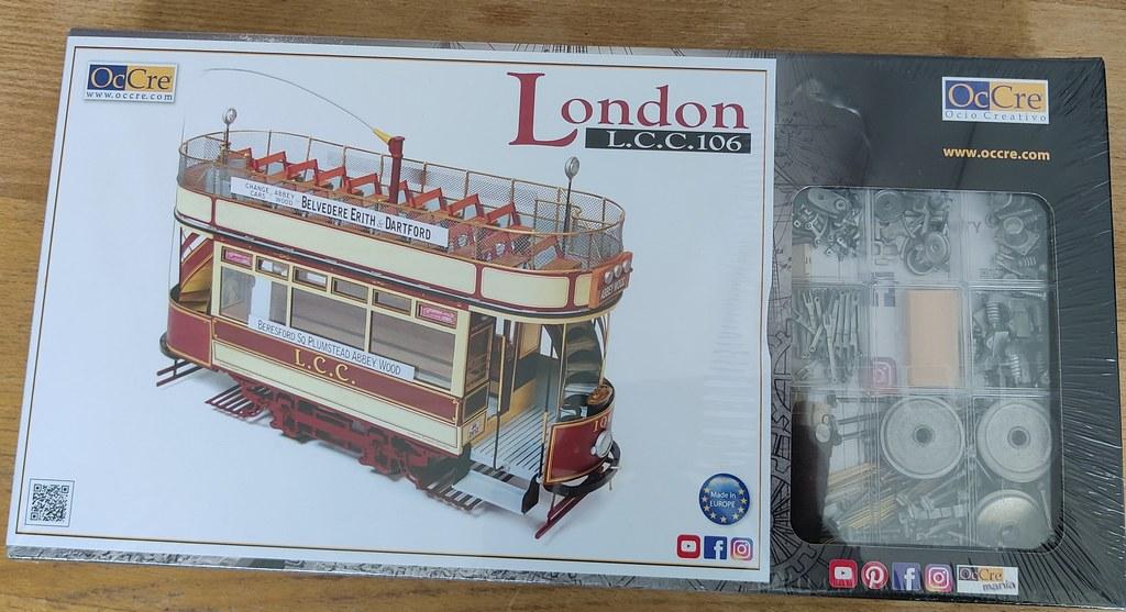Tramway londonien début XXème siècle (OcCre au 1/24) 51054544258_6104577da8_b