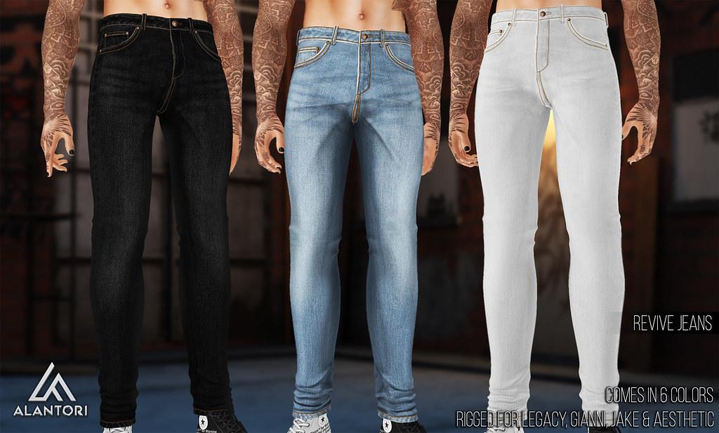 ALANTORI | Revive Jeans