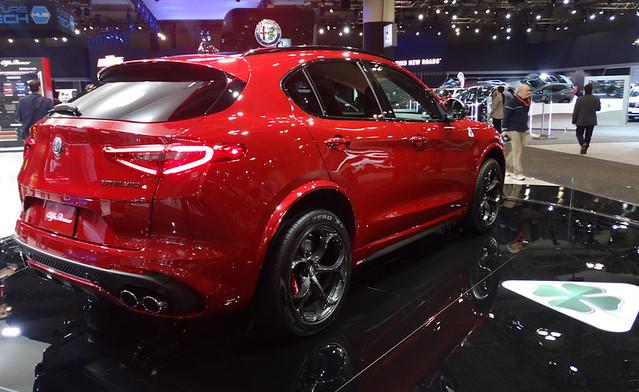 Alfa Romeo Stelvio Quadrifoglio at 2020 CIAS