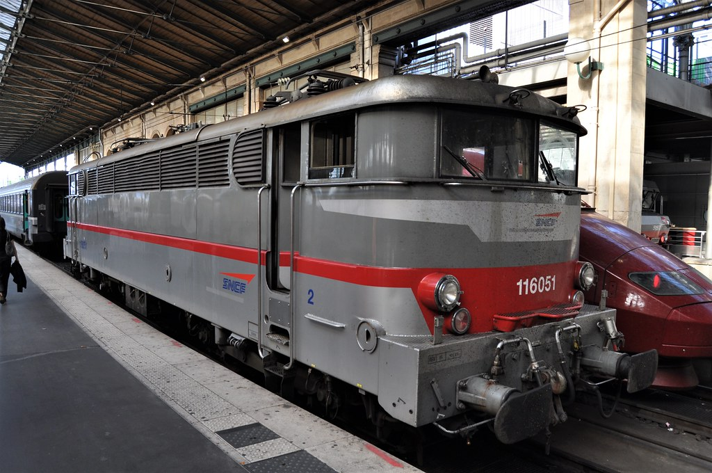 SNCF Class BB16000 No. 16061 Gare Du Nord 04 07 2011 by ChrisDPom