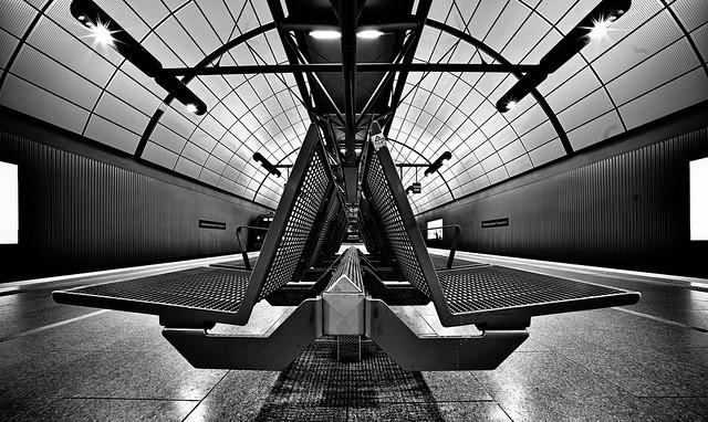 Hamburg; S-Bahnhof Hamburg-Airport