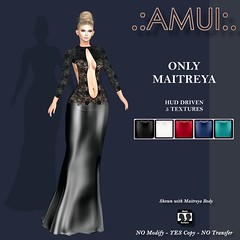 AMUI Grace Gown Dress
