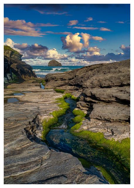 Cornwall - Trebarwith Beach (in explore)