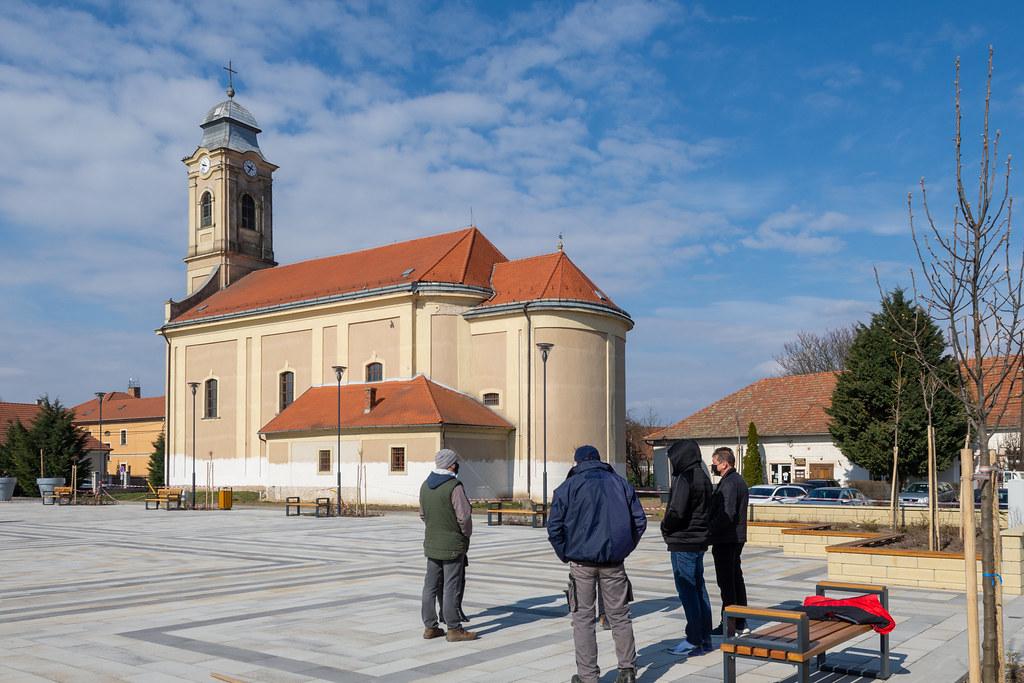 Elkészült Tiszafüred új főtere