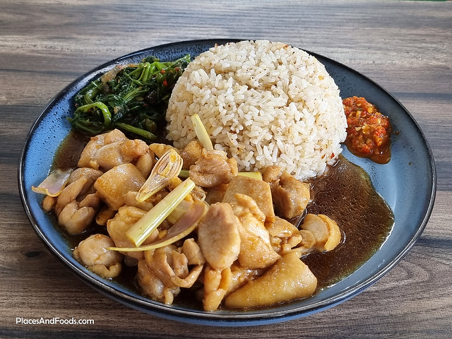 liverpool fans cafe malaysia basil chicken rice