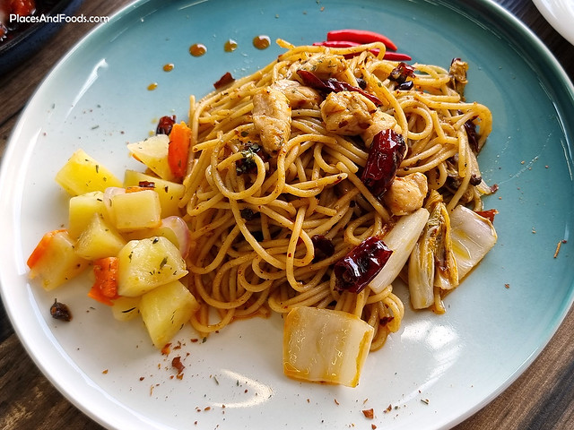 liverpool fans cafe Hot and Spicy Pepper Spaghetti