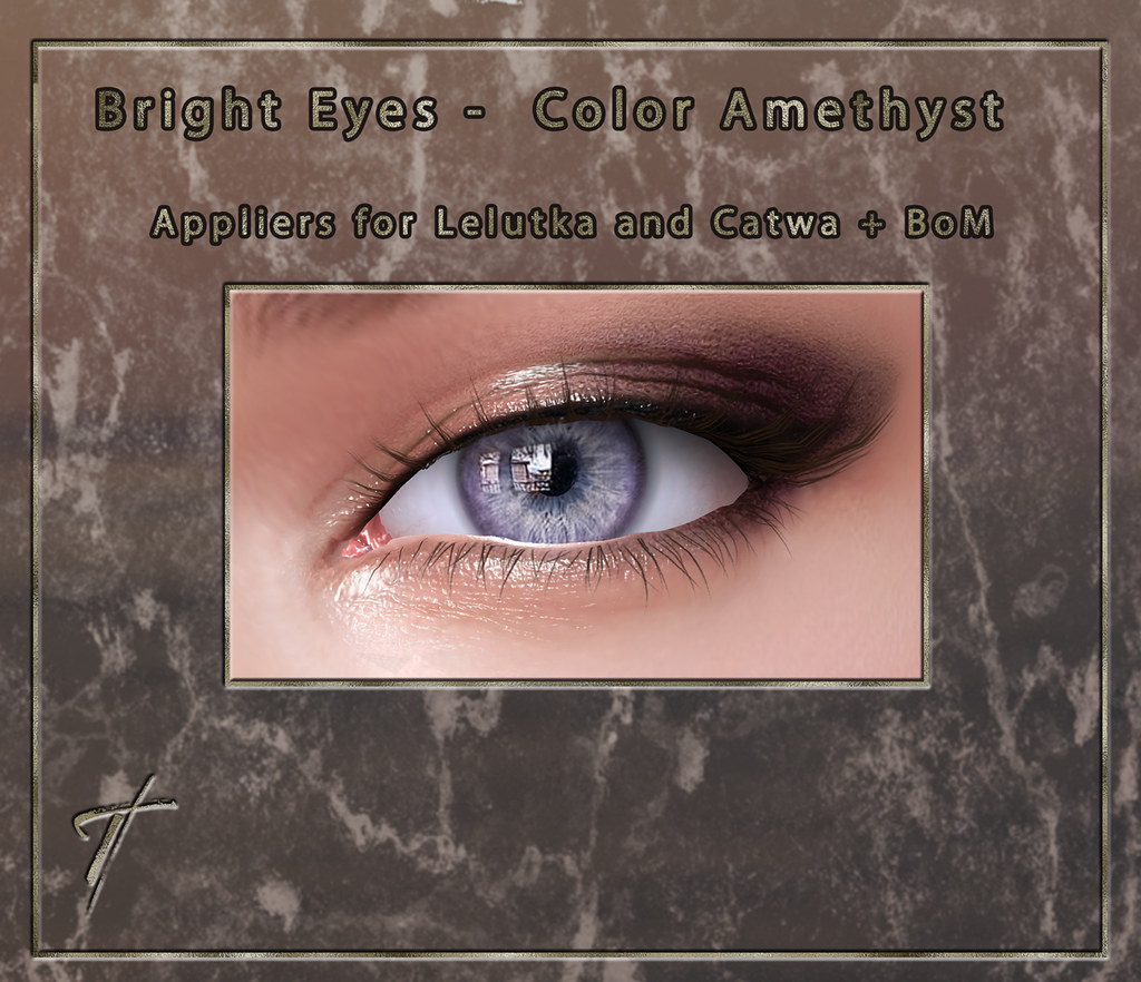 Tville – Bright Eyes *amethyst*