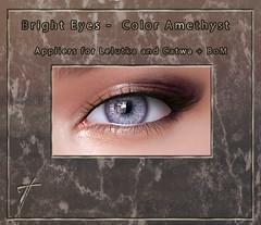 Tville - Bright Eyes *amethyst*