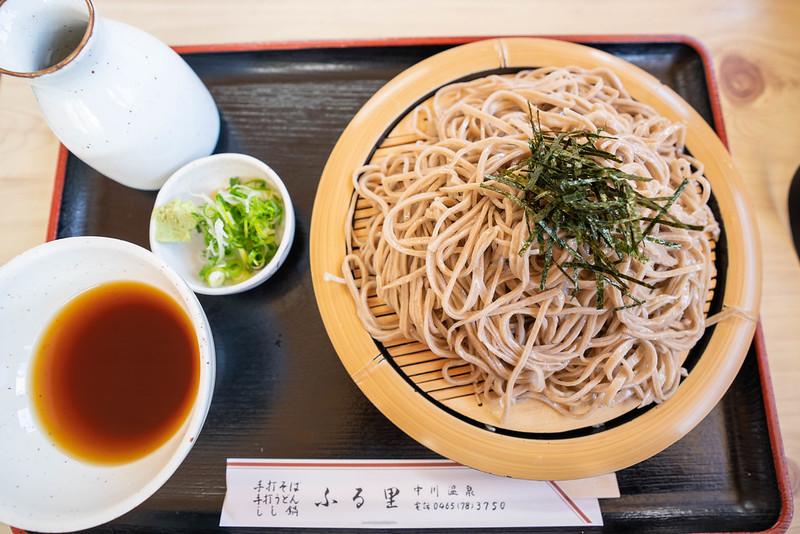ふる里の蕎麦大盛り900円