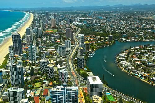 goldcoast queensland australia landscape skyline albertriver beach surf bestcapturesaoi elitegalleryaoi aoi