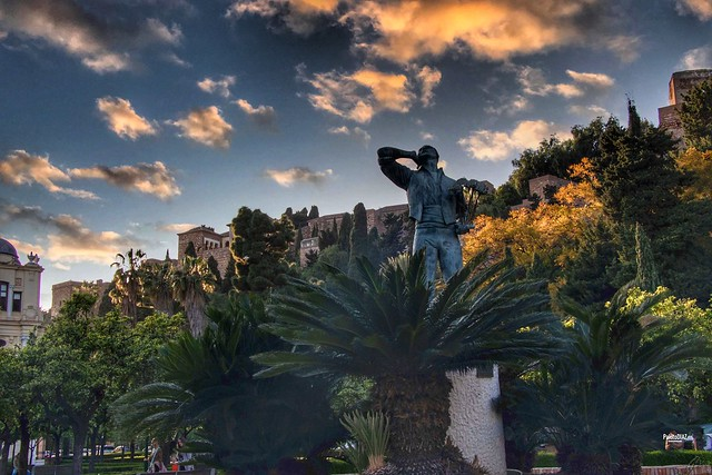 Atardeciendo Jardines de Pedro Luis Alonso.
