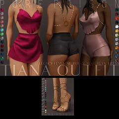 Pure Poison - Tiana Outfit & Sandals - Wanderlust Weekend, 50L