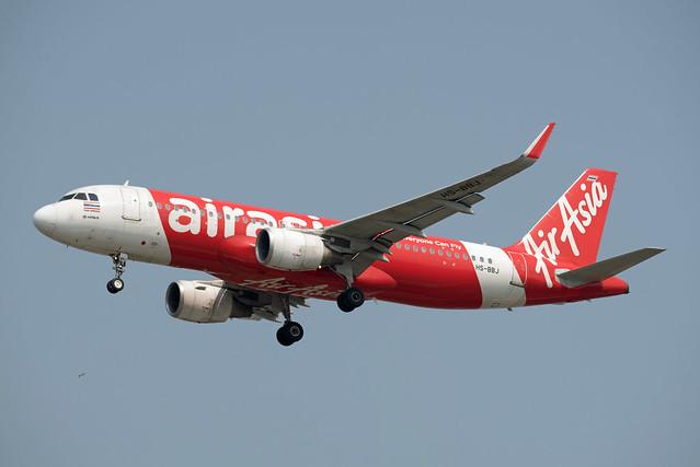 Thai AirAsia Airbus A320-216(WL) HS-BBJ Sharklets