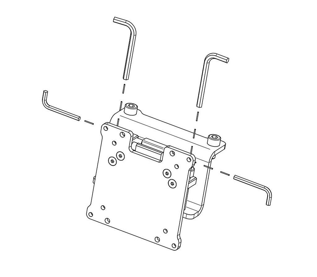 Vario Vesa Adapter kit (3 pieces) (1)