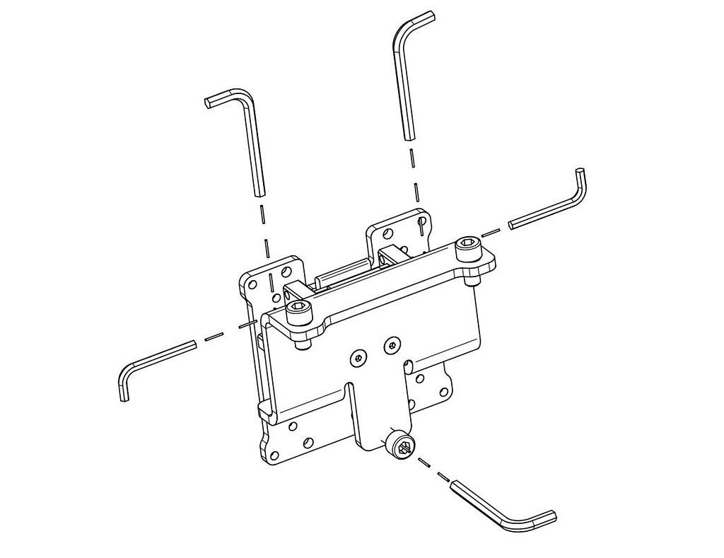 Vario Vesa Adapter kit (3 pieces) (2)
