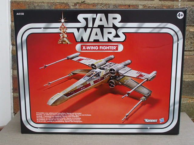 Boxed Star Wars Vintage Collection X-Wing Fighter