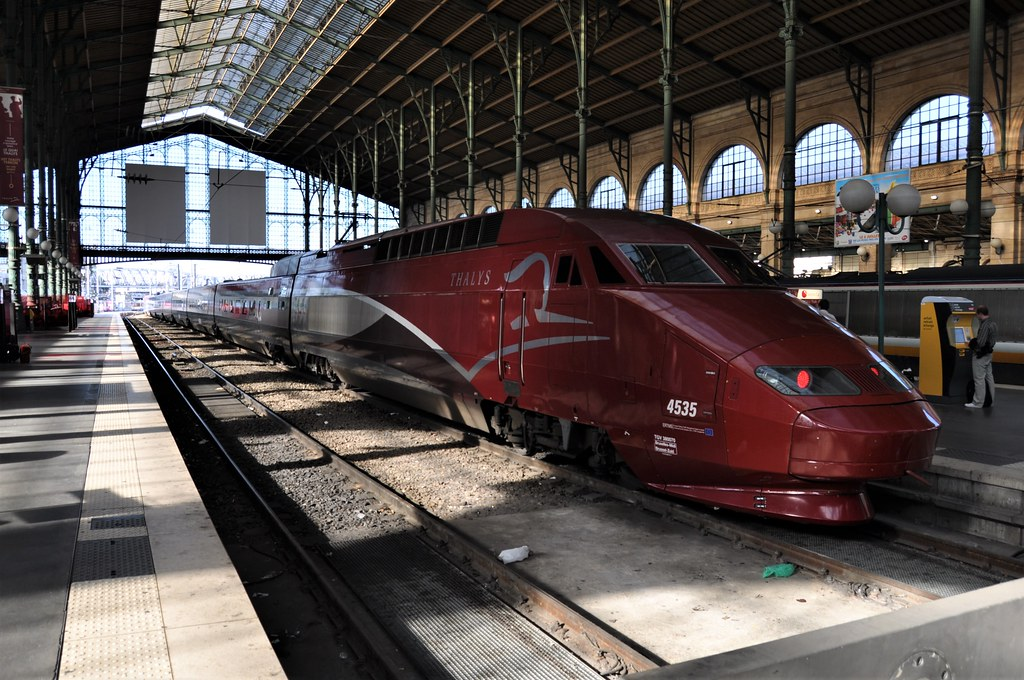 Thalys 4535 Gare Du Nord 04 07 2011 by ChrisDPom