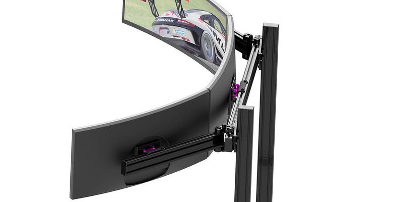 Sim Lab Vario Vesa Monitor Mount Kit for triple screen setups