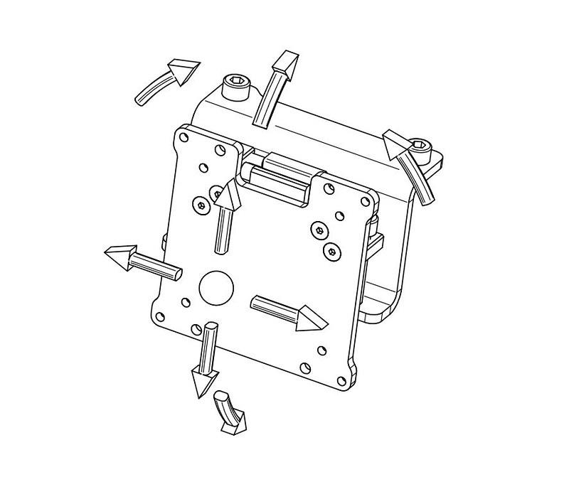 Vario Vesa Adapter kit (3 pieces) (3)